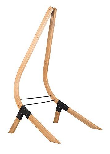 LA SIESTA - Vela Caramel - Hängestühlengestell aus FSC-zertifizierter Fichte für Hängestühle Basic